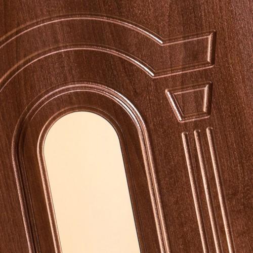 Particolare decori con doga 10 mm e cornice lato esterno tipo ON