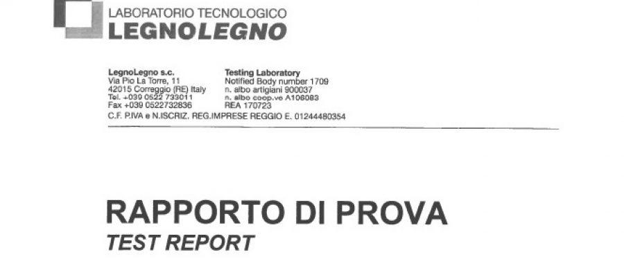 Certificazioni Cassonetti